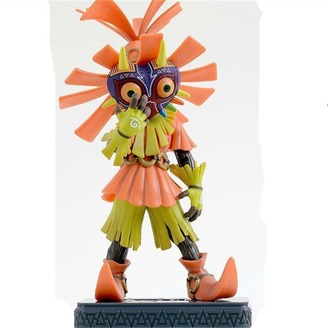 16cm Nendoroid Game The Legend of Zelda Link Majoras Mask Action Figures Model Collection Toys Brinquedos Dolls