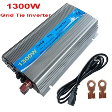 Medium Grid Tie Inverter1000W 1300W  MPPT  24V / 30V  36V Panel  Function Pure Sine Wave 110V 220V Output On Grid Tie Inverter