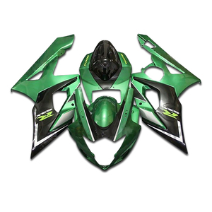 GSXR1000 Candy Green w/ Black Complete Injection Fairing for 2005-2006 Suzuki GSXR G-SXR GS-XR 1000(China)