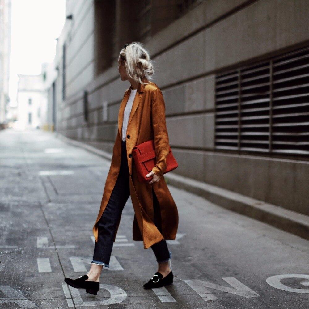 Fente Femmes Automne Cardigan Longue Vintage vent Réglable Tranchée Femelle Coupe Ourlet Lsysag Manteau Taille Vêtements Ceinture 2018 RqdqPp