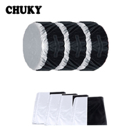 CHUKY 1X Car Spare tire cover Dustproof and Rainproof For Mazda 3 6 CX 5 CX 4 Mercedes Benz W203 W204 W211 W205 Honda Accord Fit