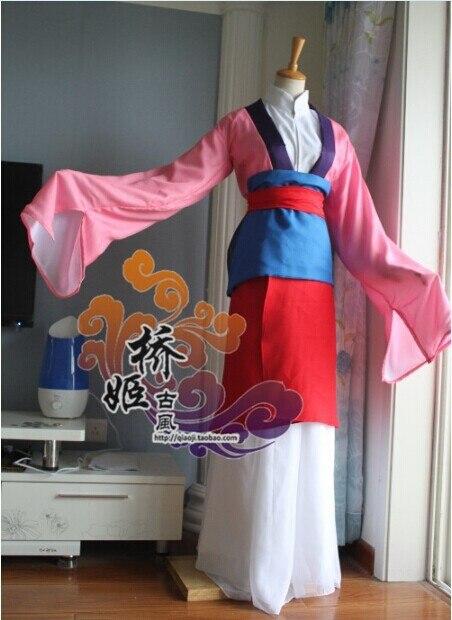Mulan Kostuum Custom Voor Volwassen En Kinderen Princess Dress Kleurrijke Lovertjes Cosplay Kostuum Voor Vrouwen En Meisje Party Voor Kerst