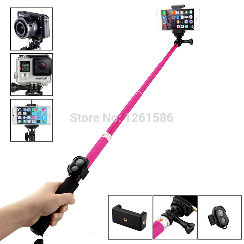 For Samsung For Sony C5 Z3 Z2 XP Z/M8 M7 Bluetooth Remote Stick Camera Shutter Extendable Bluetooth Selfie Gopro 39
