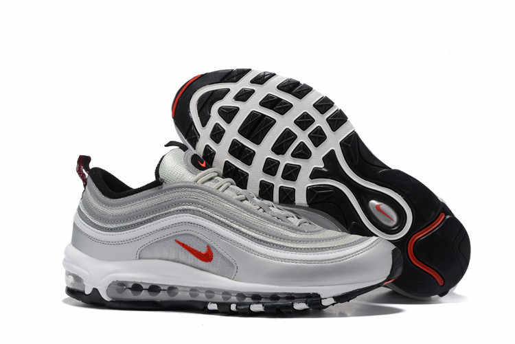 2c1bb3b10b ... Classic Nike Air Max 97 Silver OG Retro Men Breathable 3M Badminton  Shoes,Male Low ...
