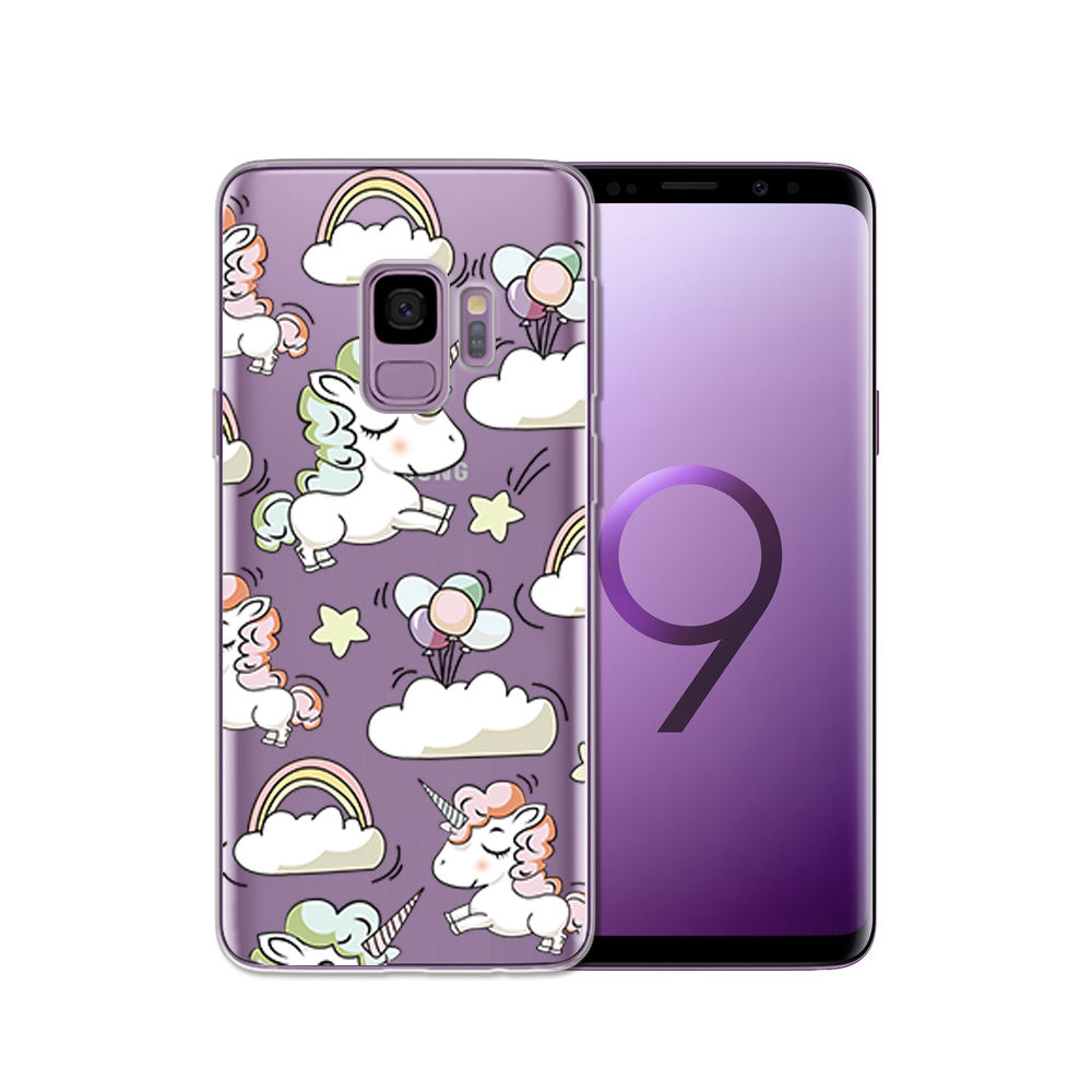 Arvin Silicone Case FOR Samsung Galax s5 S6 S7 S8 Clear Protective case FOR Samsung S6 edge S8 Plus S9 Plus Soft TPU Phone Cover (1)