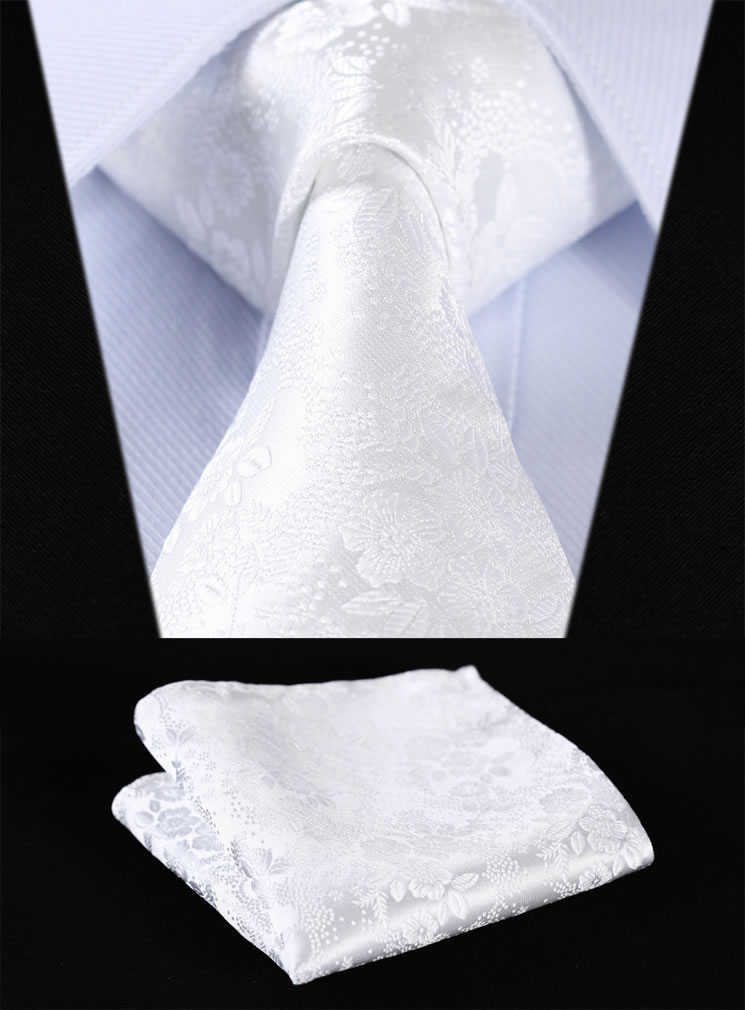 Party Wedding Classic Pocket Square Tie s