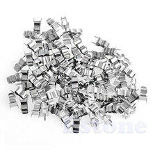 100Pcs 5*20mm Fuse Holder Clips Glass Quick Fast Blow Fuses Welding Holder Dropship