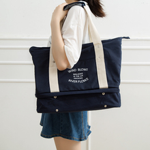 Купить с кэшбэком Fashion oxford travel bag multi bag handbag sundries pack bag 40*16*35cm