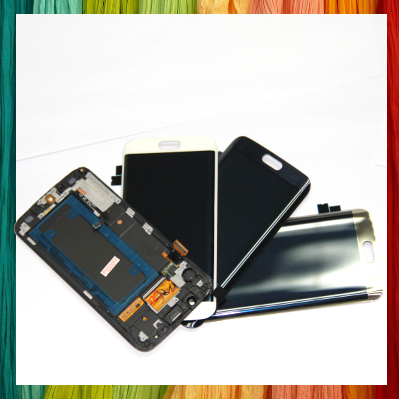 US $38 4 |White/Blue/Gold For Samsung Galaxy S6 Edge LCD Display Touch  Screen Digitizer Assembly For G925 G925F G925i-in Mobile Phone LCD Screens  from