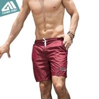 2018 New Quick Dry Mens Swim Shorts Summer Mens Board Shorts Surf Swimwear Beach Short Male Athletic Running Gym Short DT82