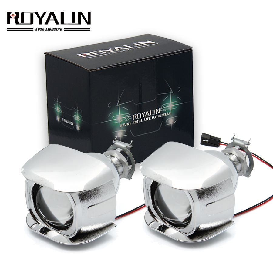 Royalin Car Style H1 Bi Xenon Hid Mini Projector
