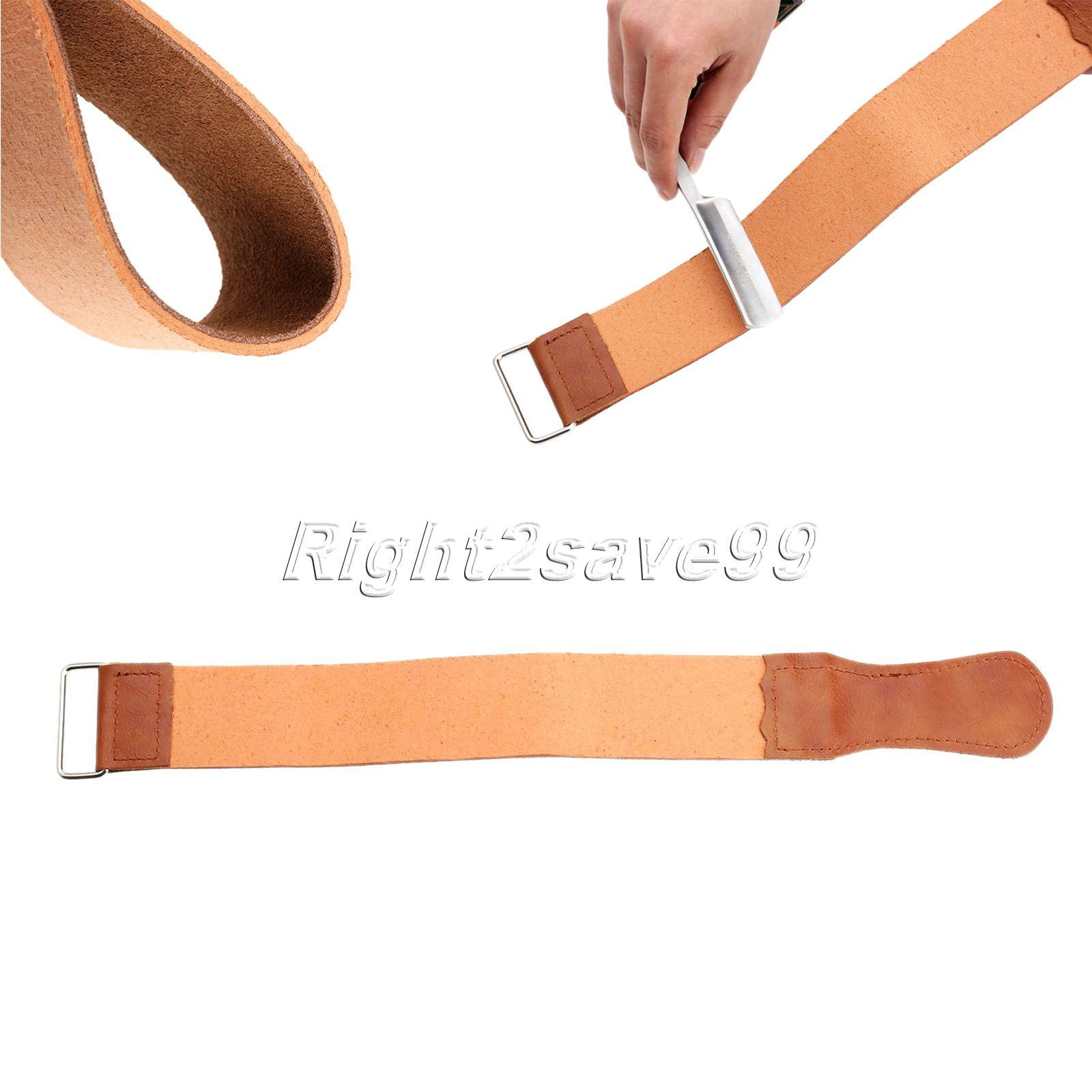 Rak Razor Sharpener Rem Läder Rakning Rem Bälte För Frisör Rak Razor Kniv Skärning Barber Stropping PU Läder