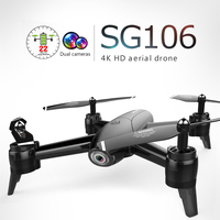 SG106 RC Drone with Camera Optical Flow 1080P 720P 4K HD Dual Camera RC Quadcopter with Camera Positioning Toys Kid VS XS816