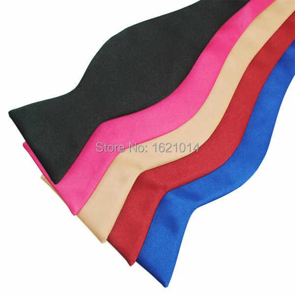 Gaun Pengantin berkualitas tinggi Dasi Diri Dasi Kupu-kupu Warna Solid Permen Klasik Tuxedo Kupu-kupu Dasi Untuk Pria