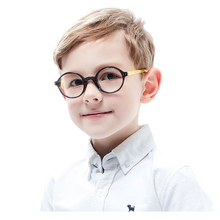 Kirka Flexible Kids Glasses Acetate Frame Child Round Boy Eyewear Frames For Children Eyeglasses Optical