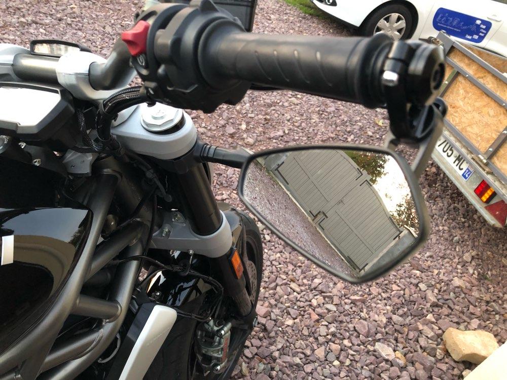 Moto rcycle acessórios espelho retrovisor 78 22mm