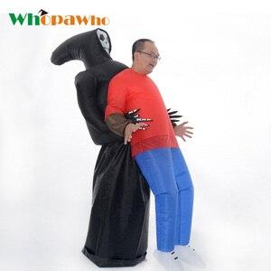 Image 1 - אנימה מתנפח רפאים תלבושות למבוגרים קמע מסיבת תחפושות חליפת קוספליי ליל כל הקדושים תלבושות עבור נשים איש פנטסיות Disfraces