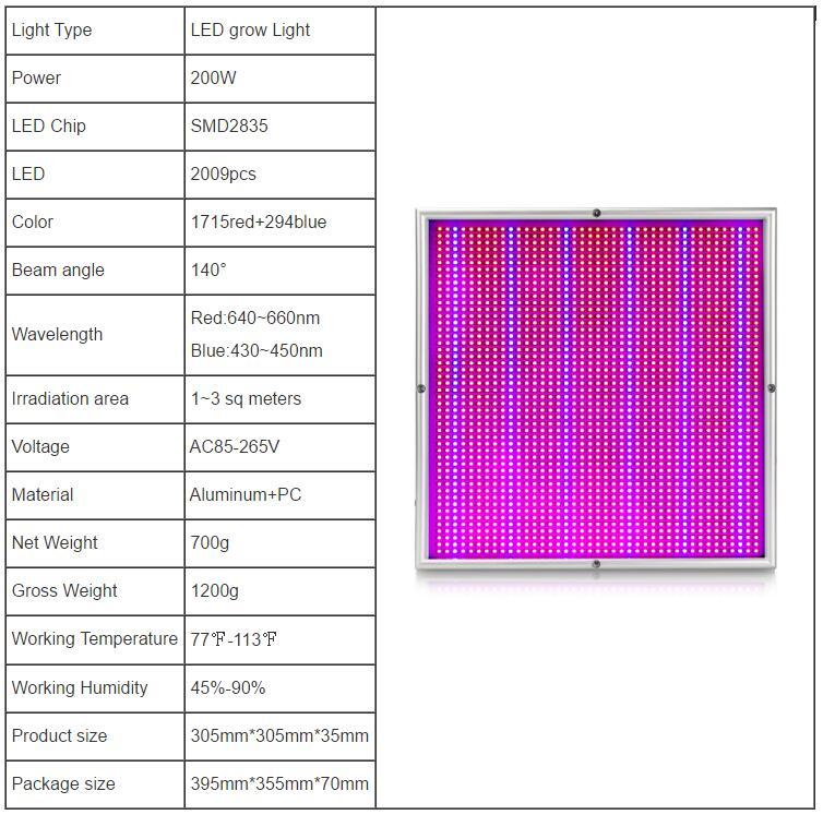 Full Spectrum LED Plant Grow Lights 13