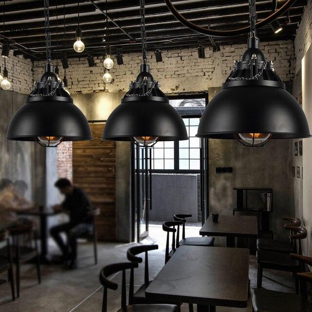 Retro Vintage Seil Pendelleuchten Loft Vintage Lampe Restaurant