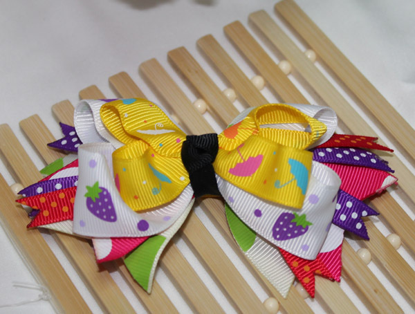 Min Order $9.9, Fashion Ribbon Bowknot Hair Accessories Hair Pin, Free Shipping