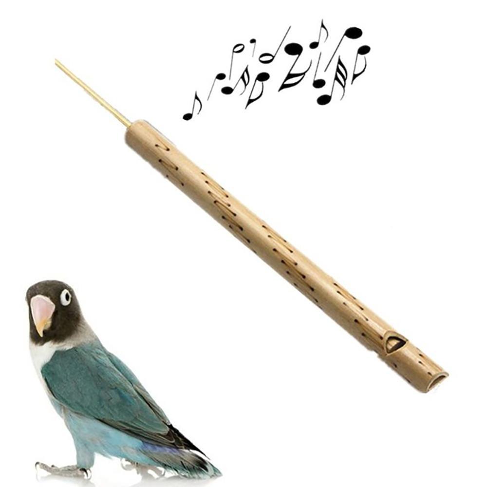 Wooden Thai Bird  Chirp Whistle Handmade Craft Musical Instrument Kids Toy