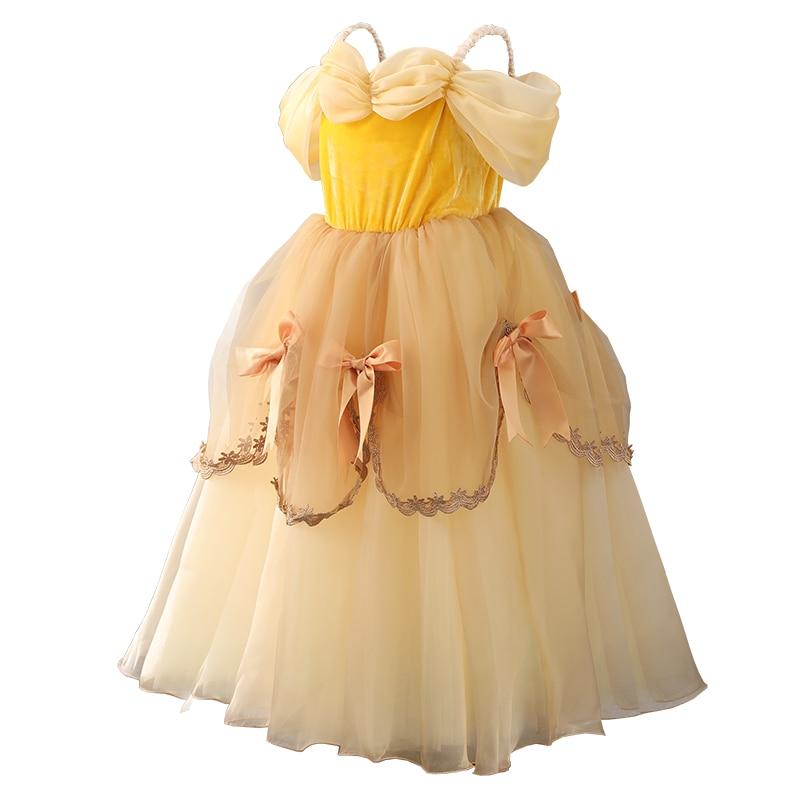 Kids Dresses for Girls Snow White Princess Costumes Girl Christmas Dress  Toddler Rapunzel Gowns vestido infantil Cindrella Elsa-in Dresses from  Mother ... 238bd04d0ec5