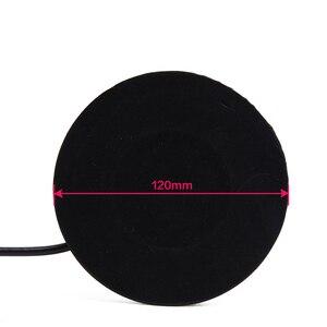 Image 5 - Магнитное крепление с плоской основой (диаметр основания: 12 см), черный/серебристый коаксиальный кабель 5 м для мобильной радиоантенны автомобиля