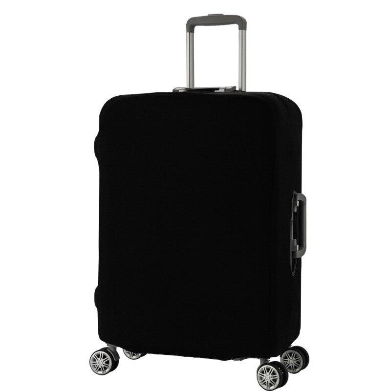 Однотонная одежда Чемодан Защитная крышка относятся к 18 -32 чемодан толще упругой Пылезащитный чехол сумка Туристические товары продукто...
