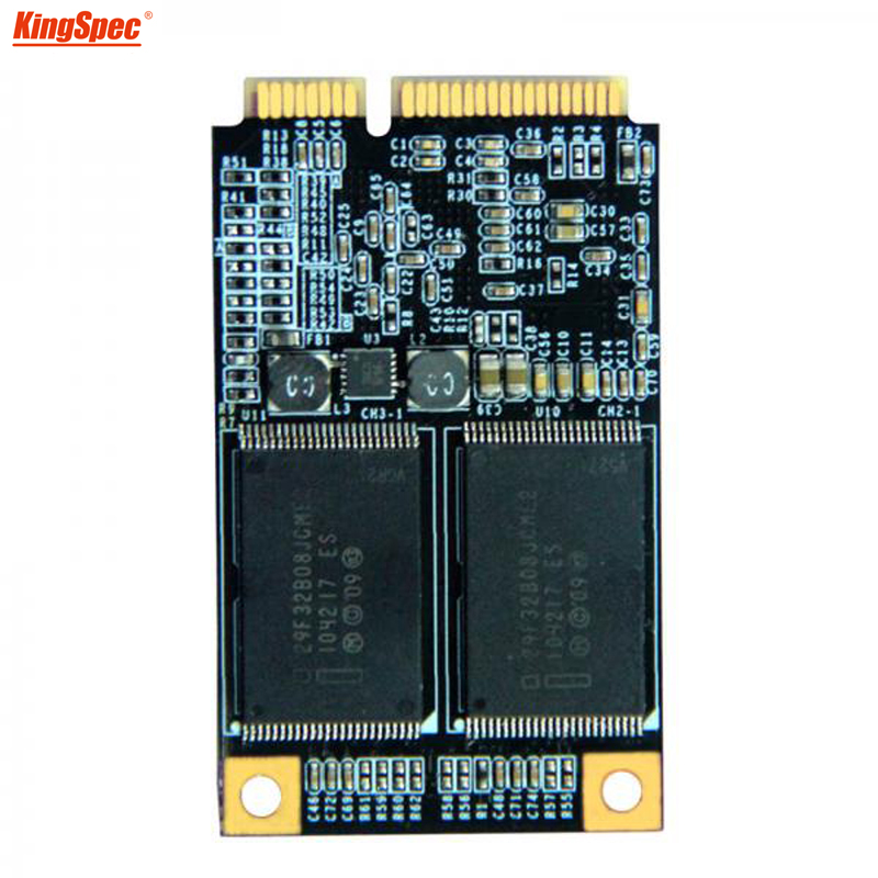 Kingspec <font><b>mSATA</b></font> mini PC interne <font><b>SSD</b></font> 32 gb SATA3 MLC Flash lagerung hd Solid State drive Festplatte für PC Tablet /laptop/Notebook image
