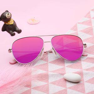 Image 2 - Youpin TS Модные Винтажные Солнцезащитные очки Классическая Металлическая оправа TAC поляризованные солнцезащитные очки с защитой от УФ детские солнцезащитные очки