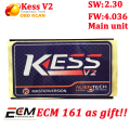 KESS V2 V2.30 Fw4.036 main unit without Token Limited ECU chip tuning KESS V2.28 Kess Master only main unit fast shipping