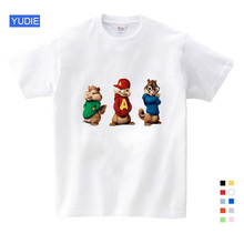2019 Hot Sale ! New Alvin and The Chipmunks Boys Tops Girls Costume Kids Free Shipping YUDIE