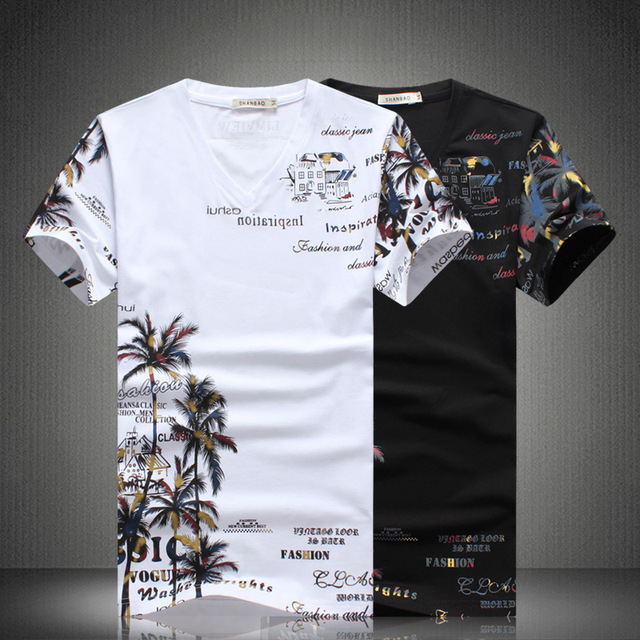 2019 New Summer Beach Shorts Sets Men Casual Coconut Island Printing Suits Mens Clothing Suit Male Sets T Shirt +Pants 5XL 4