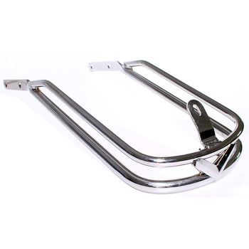 Motorcycle Chrome Front Fender Rail Bumper Trim For Harley Touring Chrome FLH FLHT FLHTC 1986-2013