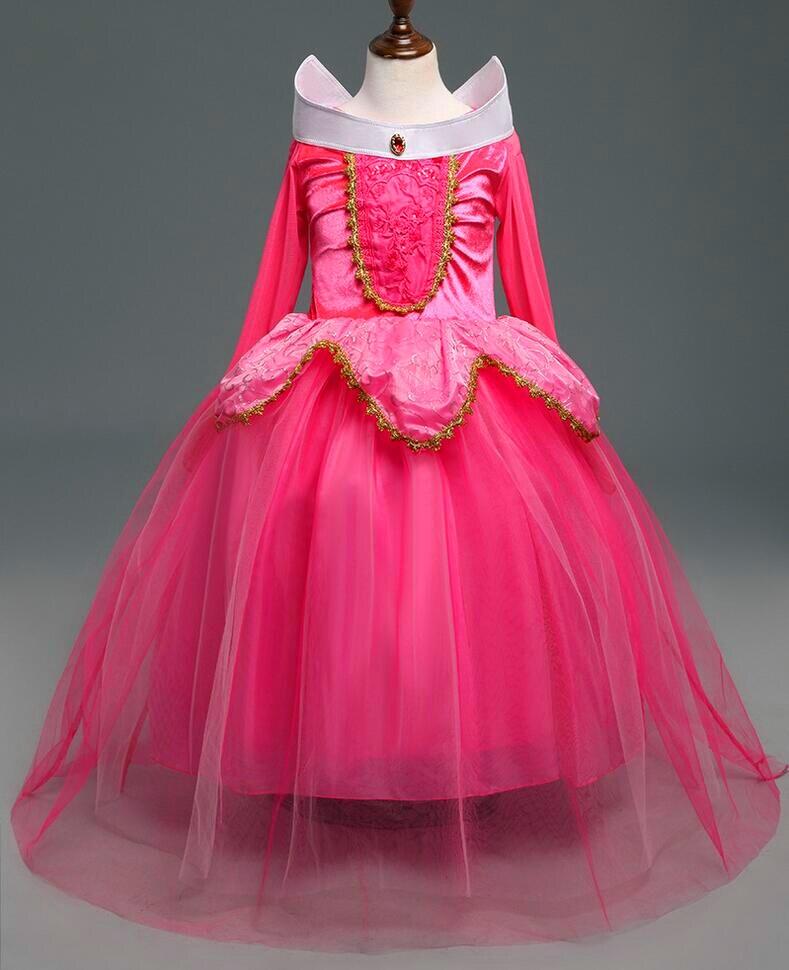 Nuevo 2017 princesa de la muchacha del vestido, Cenicienta Rapunzel ...