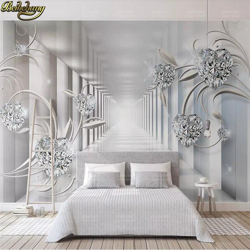 PVC metal design Mosaic Tile Flash Feuille d/'Argent Papier Peint Salon KTV