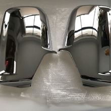 Хромированная крышка Зеркала бокового крыла двери автомобиля для Mercedes Sprinter VW Crafter 2006