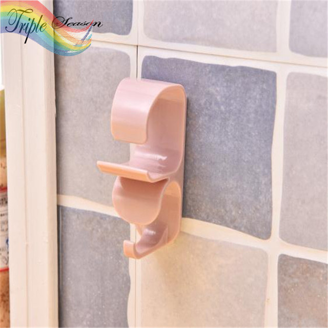 1 Piece New Pattern Fashion Bathroom Accessory Set Shower Curtain Hooks Plastic Vacuum Er Ab0253s
