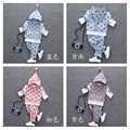 2016 Latest Spring Boy Suit Casual Kids Cotton Hooded Star Jacket + Pants 2 Pieces Fashion Sports Baby / Neon Clothing