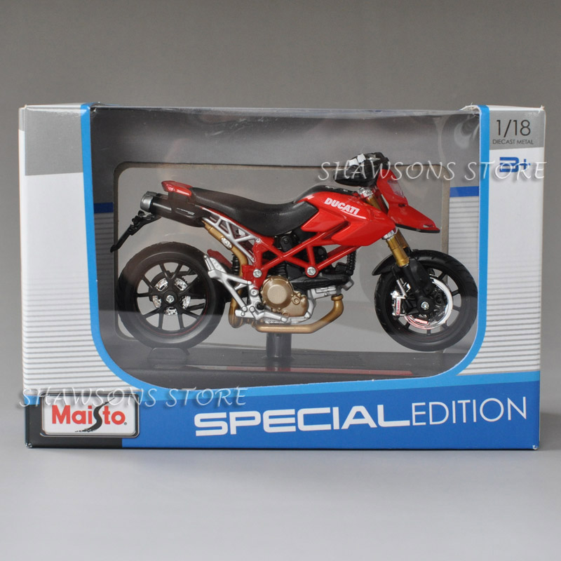 1:18 Maisto Diecast Motorcycle Model Toys Ducati Streetfighter S 2010 Replica