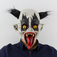 2019 Halloween Masker Scary Party Maske Latex Mask Funny Long Tongue Clown Cosplay Masks Decoration Horror Masquerade Props