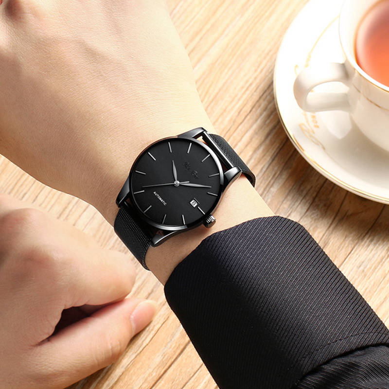 2019 new summer mens watch steel mesh strap simple fashion student business waterproof watches top luxury brand wristwatch2019 new summer mens watch steel mesh strap simple fashion student business waterproof watches top luxury brand wristwatch