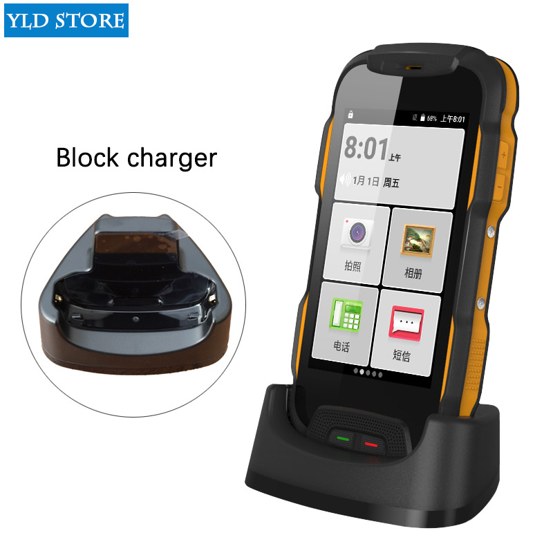 Oinom V9T IP67 V9-T T9H teléfono Android smartphone impermeable 4 pulgadas al aire libre 5200 mAh 4G lte móvil resistente a prueba de golpes IP68 dual SIM