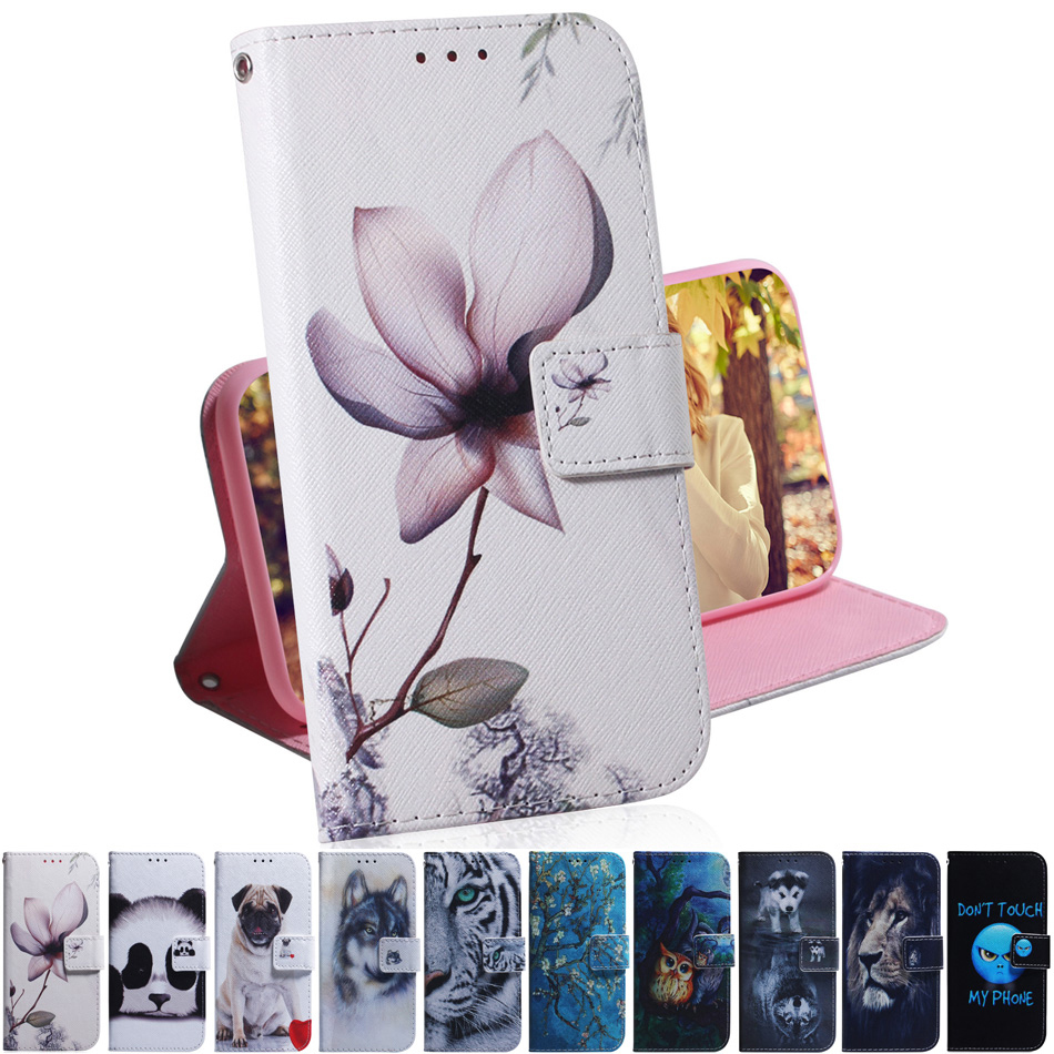 Magnolia <font><b>Flip</b></font> PU Leather + Wallet Cover <font><b>Case</b></font> For Coque <font><b>Samsung</b></font> Galaxy J7 <font><b>2017</b></font> Perx V <font><b>J5</b></font> Prime ON5 2016 J3 A3 A5 A6 Note 9 8 <font><b>Case</b></font> image