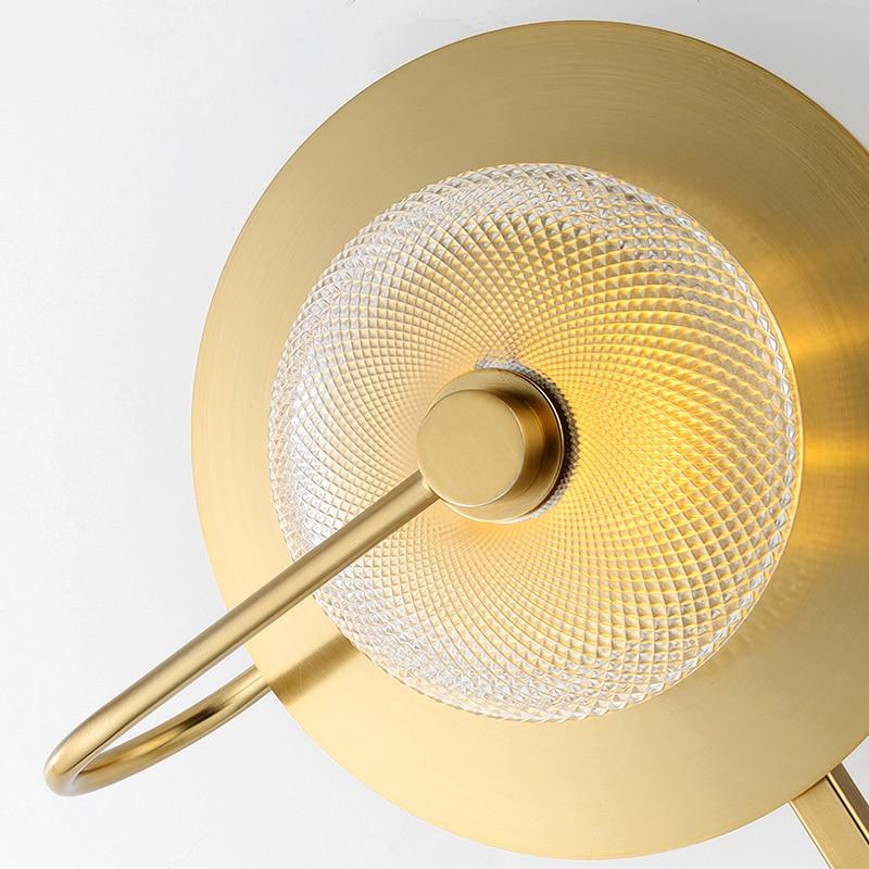 estar designer criativo simples quarto corredor da escada lampada parede 03