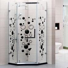 Съемные пузыри настенные наклейки s для ванной комнаты водонепроницаемые стеклянные наклейки s оконные наклейки s для детской комнаты кухни DIY Наклейка