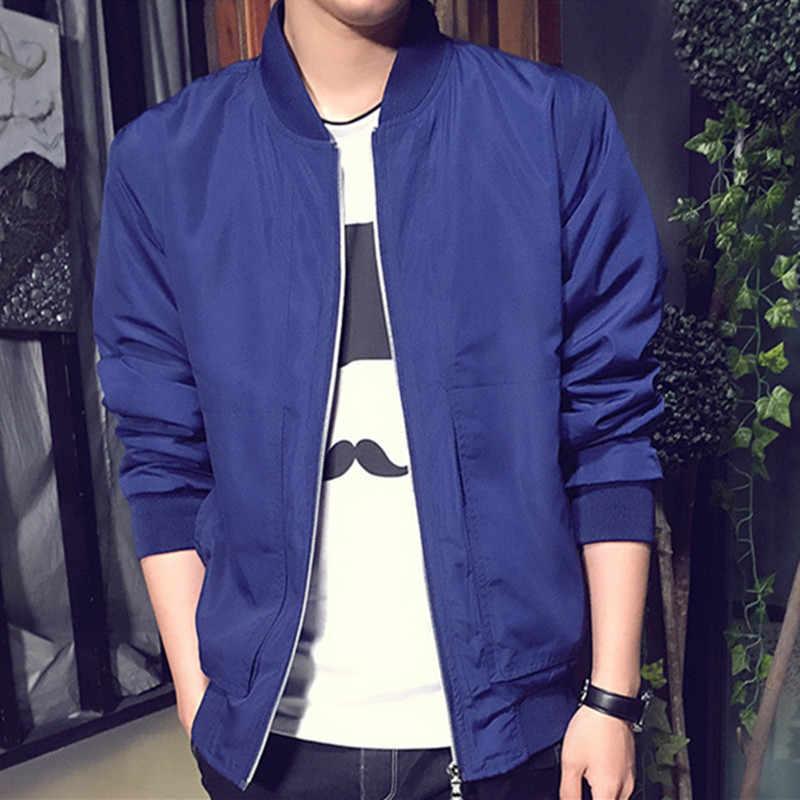 2019 Для мужчин s куртка M-4XL Топ Дизайн Лидер продаж куртка для фитнеса Для мужчин качество подходит брендовая одежда новая мода куртки мужской M-4XL