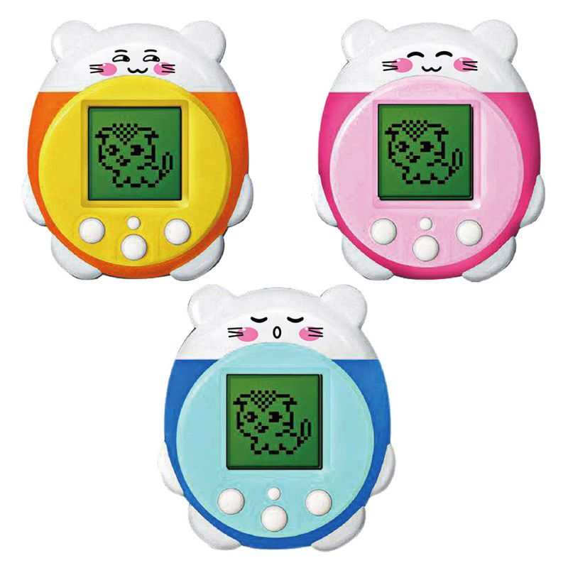 Mini Electronic Pets Toys 9 Pets In 1 Virtual Cyber Pet Toy For Kids Adults Funny Christmas Gift