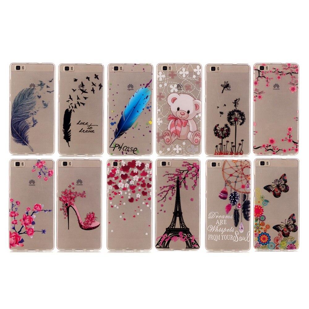 For Huawei P8 lite Cases Cover P8 mini Anti-proof Phone Case Pretty Diverse Pattern TMD+TPU Phone Case Soft Silicone Case Cover