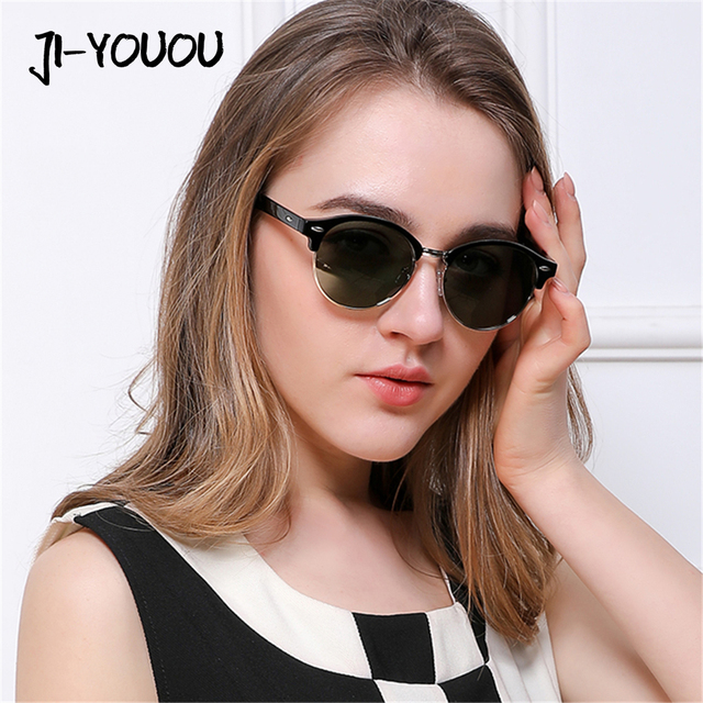 4632061a09c JIYOUOU designer sunglasses for women 2018 New polarized sunglasses oculos  retro vintage luxury HD fashion ladies